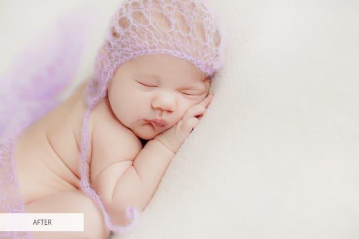 Preset Newborn Softly for lightroom