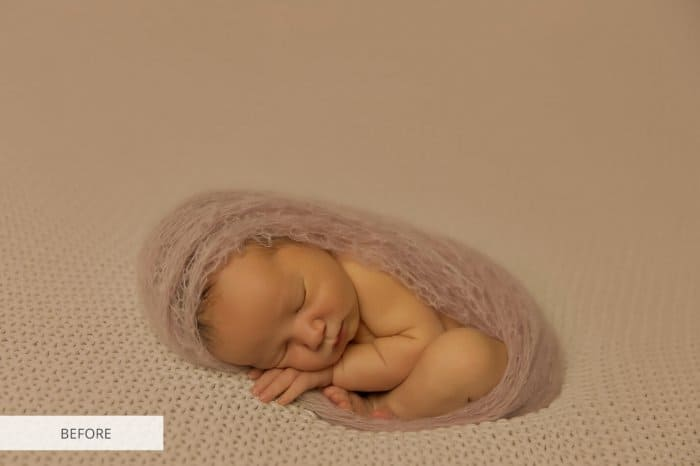 Preset Newborn Saturation for lightroom