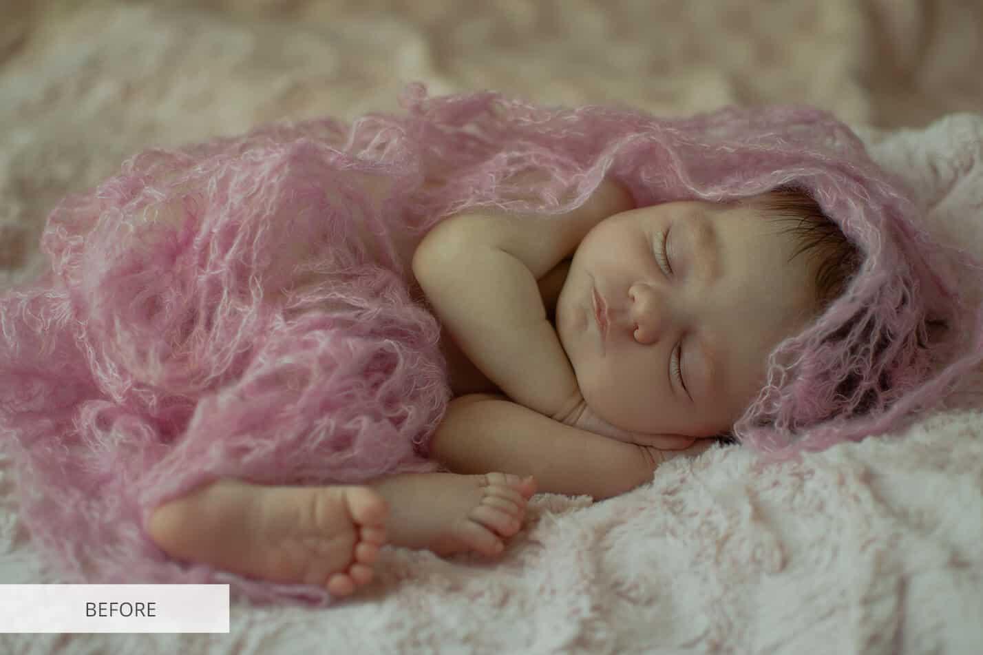 Preset Newborn Film Effect for lightroom