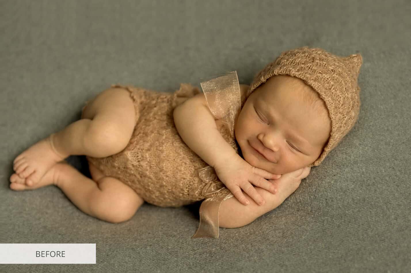 Preset Newborn B&W Film for lightroom