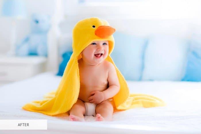 Preset Newborn Soft Skin for lightroom