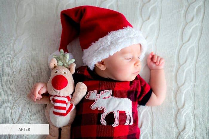 Preset Newborn Brighten for lightroom
