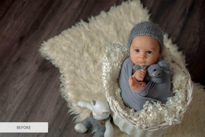 Preset Newborn Tonning Warm for lightroom