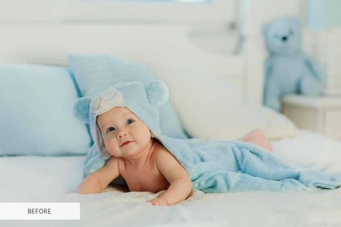 Preset Newborn Pure for lightroom