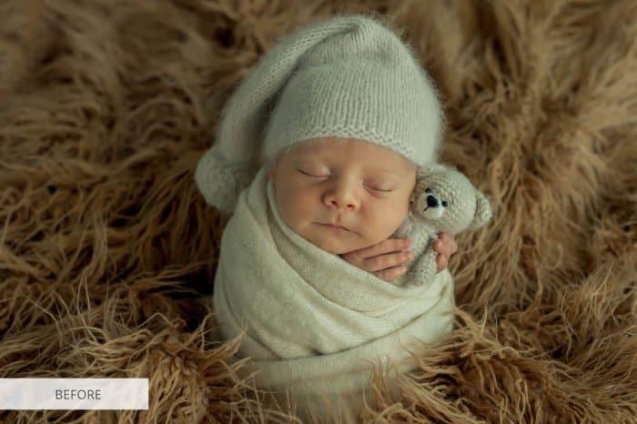 Preset Newborn Kodak for lightroom