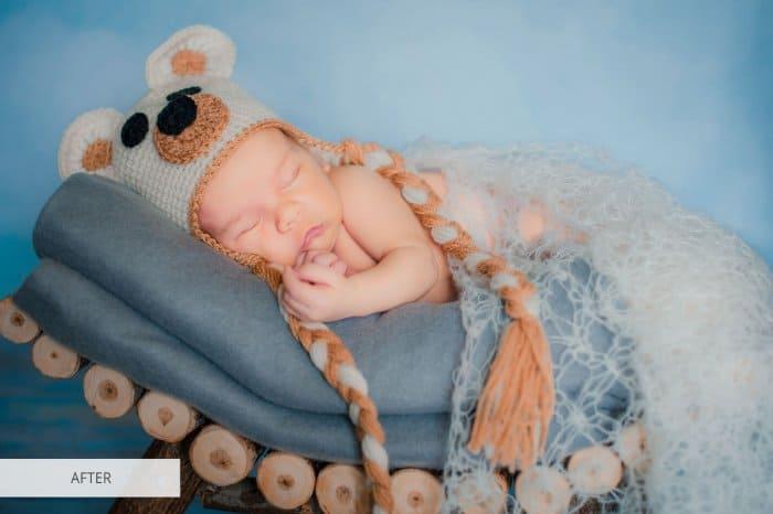 Preset Newborn Perfection for lightroom
