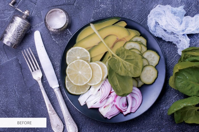 Preset Food Salad for lightroom