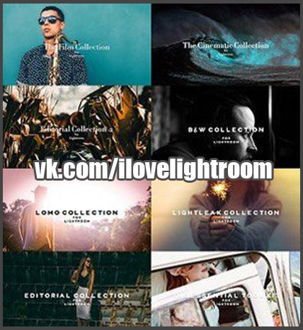Preset The Lightroom Collection for lightroom