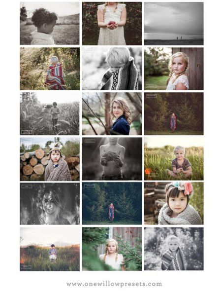 Preset OW The Rustic Collection for lightroom