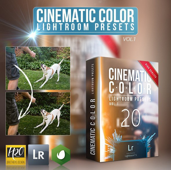 Preset 20 Cinematic Color Lightroom Presets for lightroom